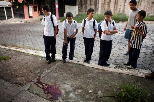 Asesinato despuŽs del colegio
