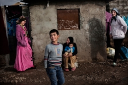 Fleeing Syria_Syrian Refugee in Domiz Camp, Iraqi Kurdistan